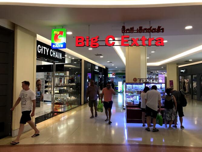 タイのプーケットってどんな場所?はじめて行く人に向けたプーケット基本情報:ビッグCエクストラ